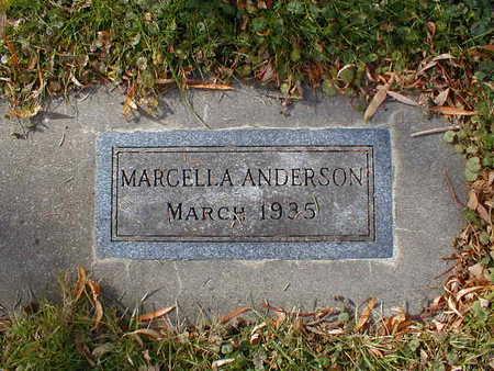 ANDERSON, MARCELLA - Bremer County, Iowa | MARCELLA ANDERSON