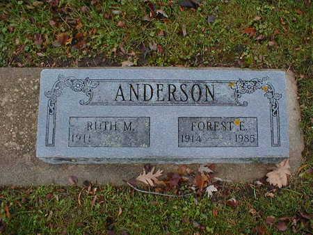 ANDERSON, RUTH M - Bremer County, Iowa | RUTH M ANDERSON