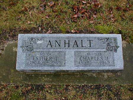 ANHALT, ESTHER T - Bremer County, Iowa | ESTHER T ANHALT