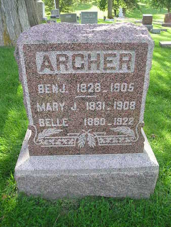 ARCHER, MARY J - Bremer County, Iowa | MARY J ARCHER
