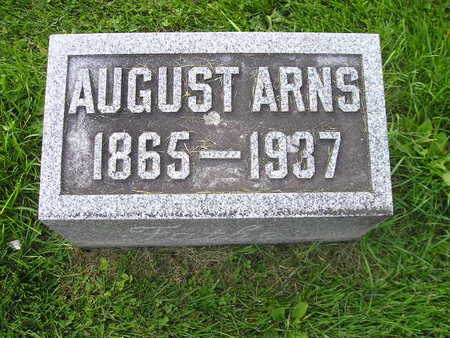 ARNS, AUGUST - Bremer County, Iowa | AUGUST ARNS