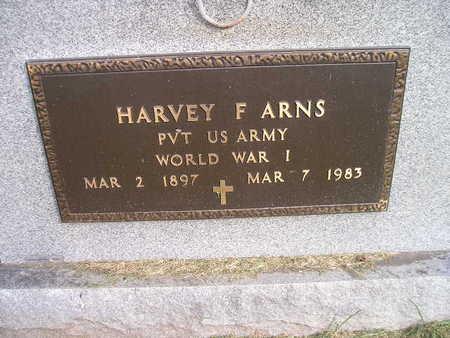 ARNS, HARVEY F - Bremer County, Iowa | HARVEY F ARNS
