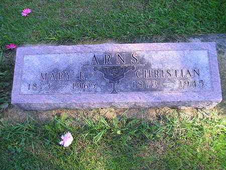 ARNS, CHRISTIAN - Bremer County, Iowa | CHRISTIAN ARNS