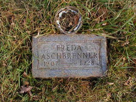 ASCHBRENNER, FREDA - Bremer County, Iowa | FREDA ASCHBRENNER