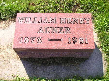 AUNER, WILLIAM HENRY - Bremer County, Iowa | WILLIAM HENRY AUNER