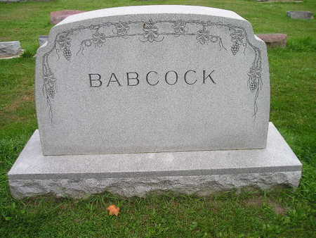 BABCOCK, WILLIAM, EDITH - Bremer County, Iowa | WILLIAM, EDITH BABCOCK