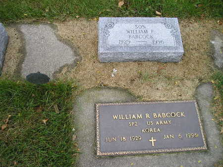 BABCOCK, WILLIAM R - Bremer County, Iowa | WILLIAM R BABCOCK