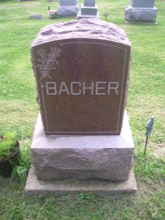 BACHER, EMMA - Bremer County, Iowa | EMMA BACHER