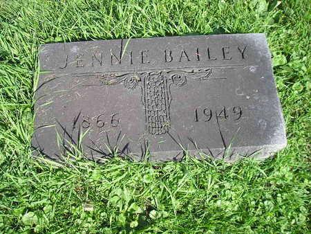 BAILEY, JENNIE - Bremer County, Iowa | JENNIE BAILEY