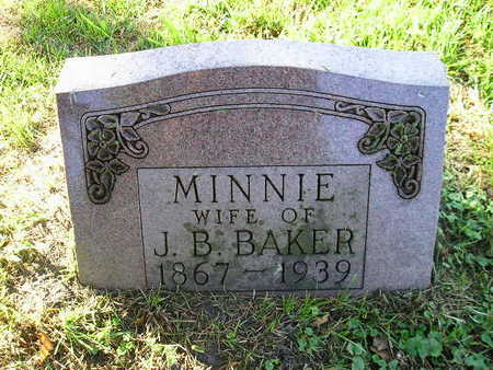 BAKER, MINNIE - Bremer County, Iowa | MINNIE BAKER