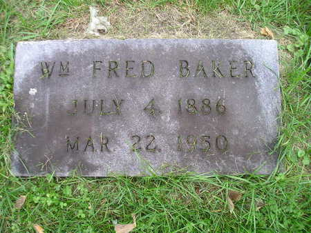 BAKER, WM FRED - Bremer County, Iowa | WM FRED BAKER
