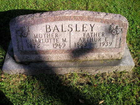 BALSLEY, CHARLOTTE M - Bremer County, Iowa | CHARLOTTE M BALSLEY