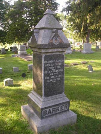 BARKER, WILLIAM F - Bremer County, Iowa | WILLIAM F BARKER