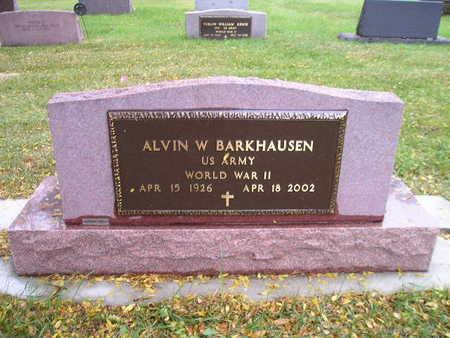 BARKHAUSEN, ALVIN W - Bremer County, Iowa | ALVIN W BARKHAUSEN