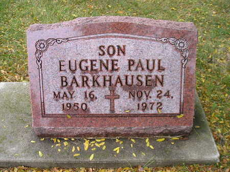BARKHAUSEN, EUGENE PAUL - Bremer County, Iowa | EUGENE PAUL BARKHAUSEN