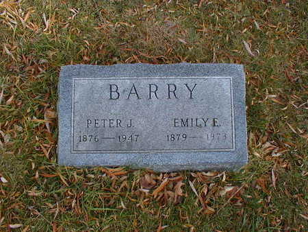 BARRY, PETER J - Bremer County, Iowa | PETER J BARRY