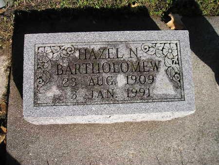 BARTHOLOMEW, HAZEL N - Bremer County, Iowa | HAZEL N BARTHOLOMEW
