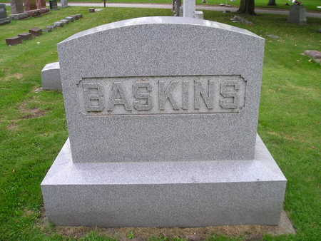 BASKINS, ABNER, EFFIE - Bremer County, Iowa | ABNER, EFFIE BASKINS