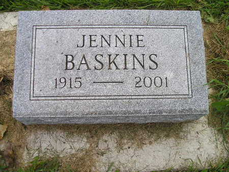 BASKINS, JENNIE - Bremer County, Iowa | JENNIE BASKINS
