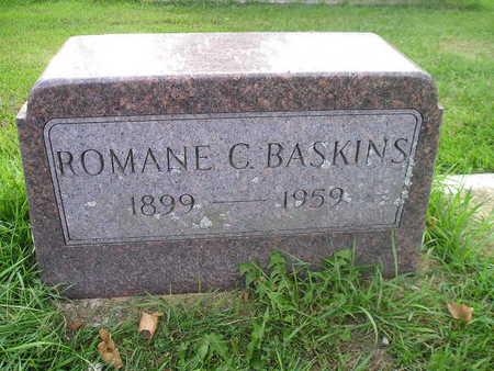 BASKINS, ROMANE C - Bremer County, Iowa | ROMANE C BASKINS