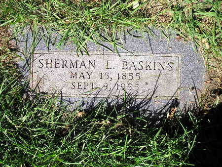 BASKINS, SHERMAN L - Bremer County, Iowa | SHERMAN L BASKINS