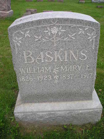 BASKINS, WILLIAM - Bremer County, Iowa | WILLIAM BASKINS