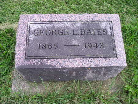BATES, GEORGE L - Bremer County, Iowa | GEORGE L BATES