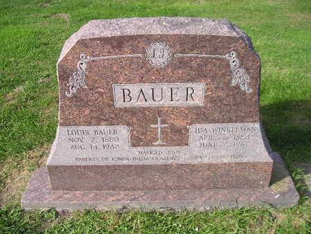 BAUER, LOUIS - Bremer County, Iowa | LOUIS BAUER