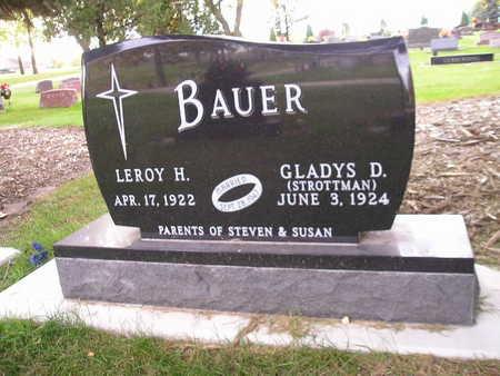 BAUER, GLADYS D - Bremer County, Iowa | GLADYS D BAUER