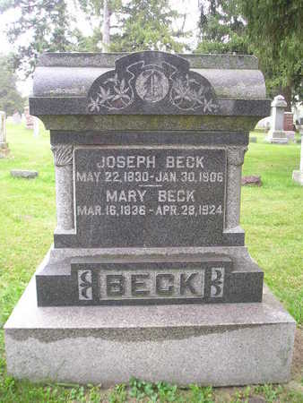 BECK, JOSEPH - Bremer County, Iowa | JOSEPH BECK