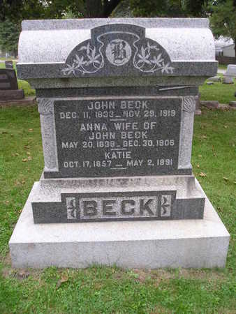 BECK, ANNA - Bremer County, Iowa | ANNA BECK