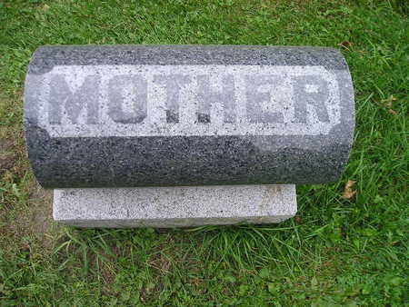 BECK, MOTHER (ANNA) - Bremer County, Iowa | MOTHER (ANNA) BECK