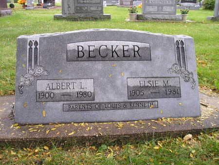 BECKER, ALBERT L - Bremer County, Iowa | ALBERT L BECKER