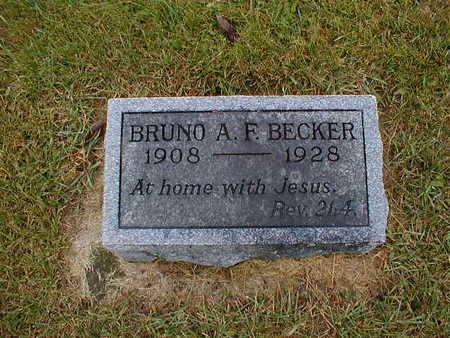 BECKER, BRUNO A F - Bremer County, Iowa | BRUNO A F BECKER