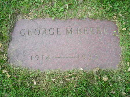 BEEBE, GEORGE M - Bremer County, Iowa | GEORGE M BEEBE