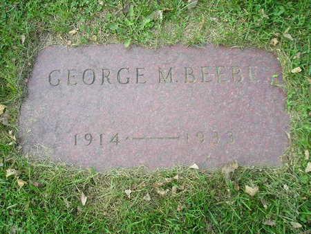BEEBE, GEORGE M - Bremer County, Iowa | GEORGE M BEEBE