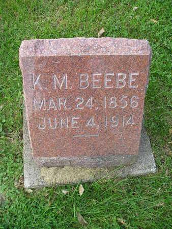 BEEBE, K M - Bremer County, Iowa | K M BEEBE