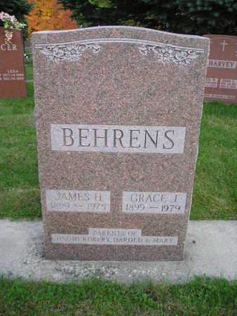 BEHRENS, JAMES H - Bremer County, Iowa | JAMES H BEHRENS