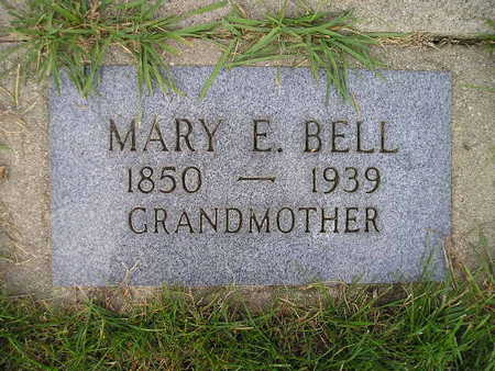BELL, MARY E - Bremer County, Iowa | MARY E BELL