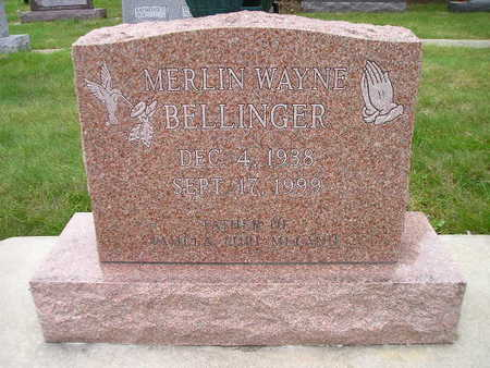 BELLINGER, MERLIN WAYNE - Bremer County, Iowa | MERLIN WAYNE BELLINGER