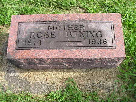 BENING, ROSE - Bremer County, Iowa | ROSE BENING