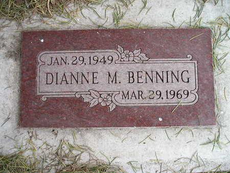 BENNING, DIANNE M - Bremer County, Iowa | DIANNE M BENNING