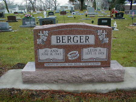 BERGER, LEON A - Bremer County, Iowa | LEON A BERGER