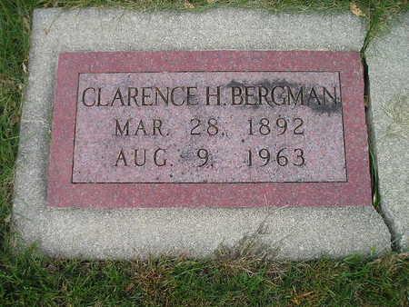 BERGMAN, CLARENCE H - Bremer County, Iowa | CLARENCE H BERGMAN