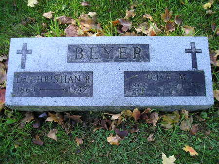 BEYER, CHRISTIAN P - Bremer County, Iowa | CHRISTIAN P BEYER