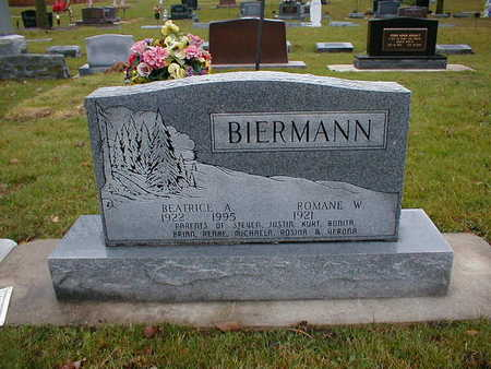 BIERMANN, BEATRICE A - Bremer County, Iowa | BEATRICE A BIERMANN