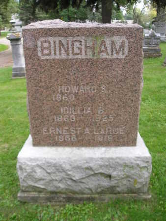 BINGHAM, HOWARD S - Bremer County, Iowa | HOWARD S BINGHAM