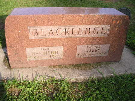 BLACKLEDGE, HARRY - Bremer County, Iowa | HARRY BLACKLEDGE