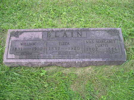 BLAIN, WILLIAM - Bremer County, Iowa | WILLIAM BLAIN