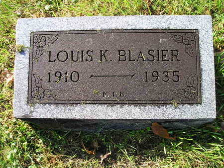 BLASIER, LOUIS K - Bremer County, Iowa | LOUIS K BLASIER